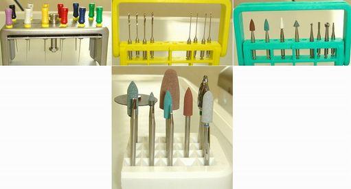 歯を削らない器材でも滅菌・交換