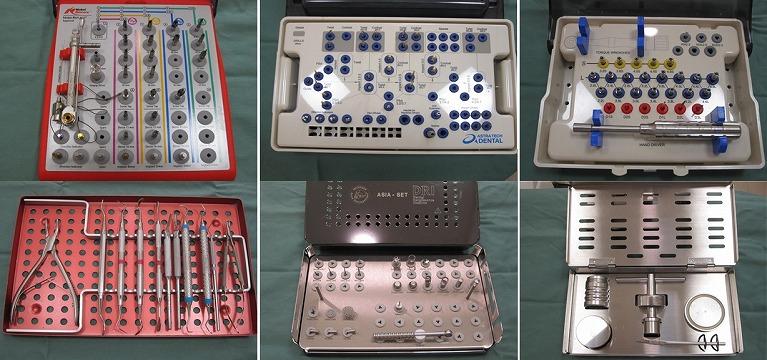 インプラント手術・外科用器具